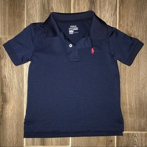 Ralph Lauren Boys 3T Polo in Navy Blue